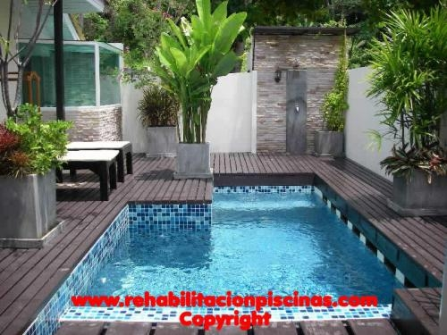 Construcción y rehabilitación de piscinas