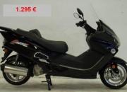 Liquidación de scooters de 50 cc y 125 cc