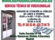 SERVICIO TECNICO CONSOLAS REPARACION MODIFICACION INSTALACION FLASHEO