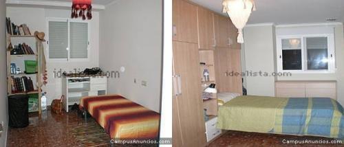 Alquiler de habitaciones por horas/dias en valencia