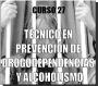 Curso a distancia: TECNICO EN PREVENCION DE DROGODEPENDENCIAS Y ALCOHOLISMO