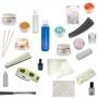 Kit permanente de pestañas. Productos Para Uñas Postizas de acrílico y gel.Kit completo para uńas de gel