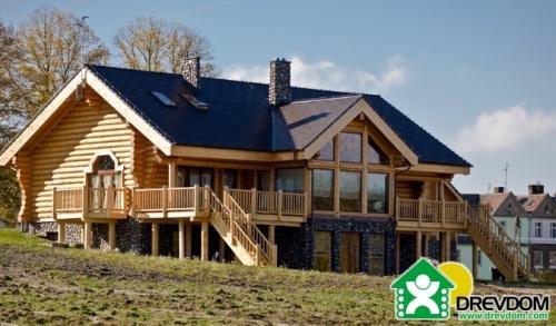 Casas de madera drevdom