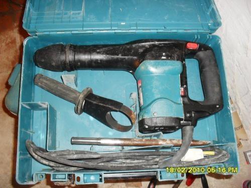 Venta de herramientas usadas de construccion