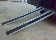 Pareja de rampas plegables de aluminio