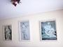 Marcos con imágenes de esculturas de Miguel Angel.
