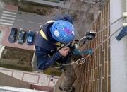 Verticales Trabajos en altura, trabajos verticales, obras sin andamios, trabajos en vertic