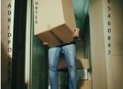 Mudanzas madrid-/portes baratos /telf: 61.582.78.28 vta de cajas, burb, etc
