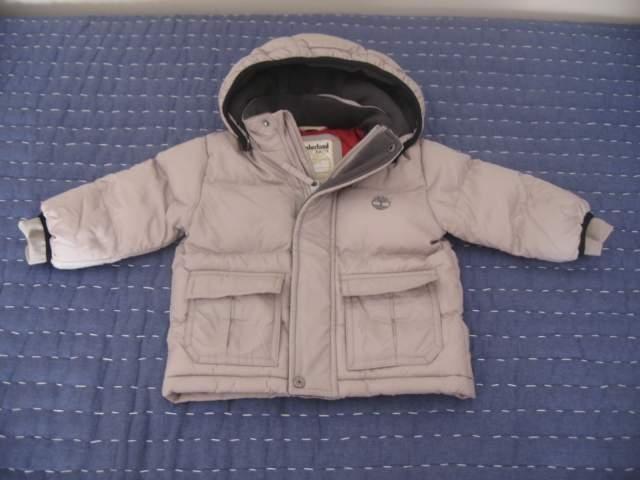 Timberland baby - anorak niño/unisex, t. 9 meses.