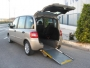 coche adaptado para minusvalido,discapacitado en silla de ruedas