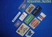 Etiquetas tejidas termoadhesivas para marcar prendas