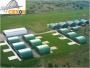 Hangares metálicos, hangares aeronáuticos para aviación o aeroparques
