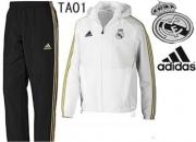 2011 chándal de Real Madrid, chándal de Chelsea .
