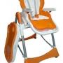 Oferta liquidación trona de bebé Babylook naranja por sólo 57 euros.