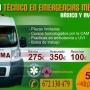 TÉCNICO EN EMERGENCIAS SANITARIAS (conductor de ambulancia)
