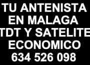 Tu antenista en malaga tdt satelite 634526098 economico