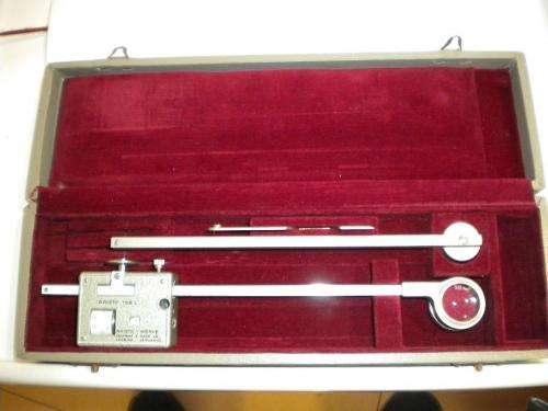 Instrumental de medicion cartografica, aristo 1100-l, con estuche