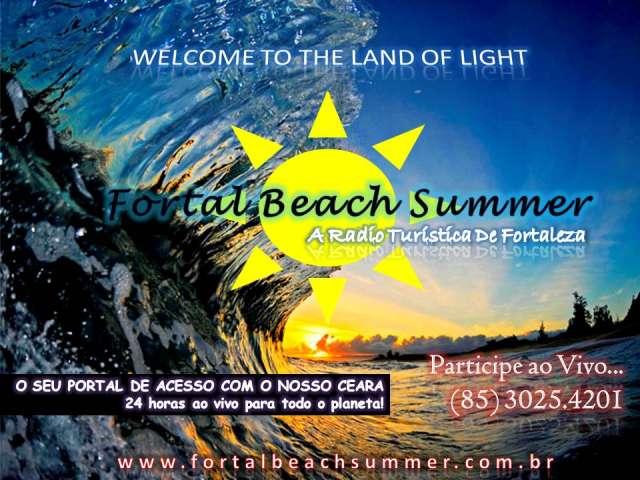 Fortal beach summer a radio turística de fortaleza