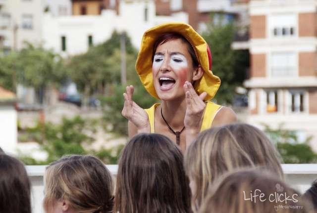 Payasos económicos barcelona para animaciones infantiles a domicilio