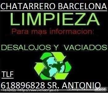 Chatarrero en barcelona tlf 618896828 recogida de papel