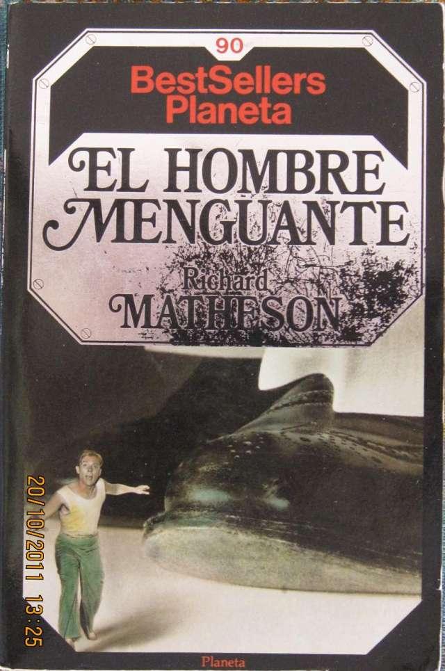 Libro. el hombre menguante, de richard matheson