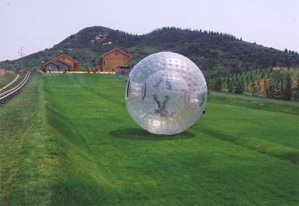 Ball zorbing !! no esperes más diviertete!!