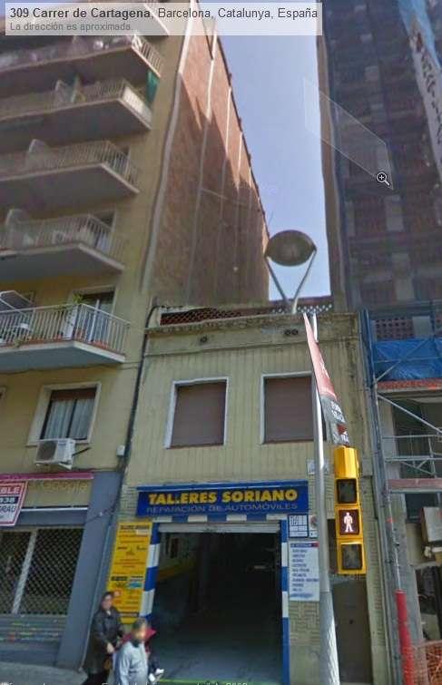 Se vende finca en barcelona ciudad con derecho de vuelo