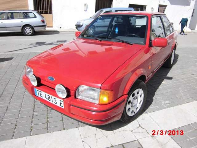 Vendo ford escort xr3 xr3i xr3 i del 89 * flamante