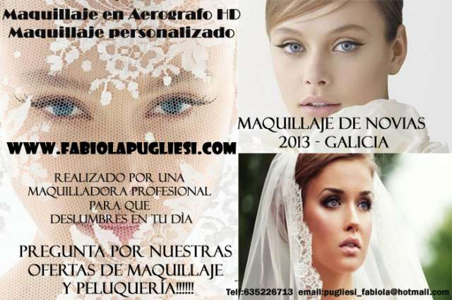 Maquilladora toda galicia