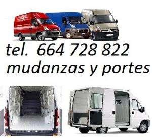 Alquiler furgoneta con conductor, empresas mudanzas espana, servicios de transportes , mudanzas