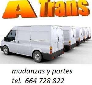 Furgonetas para mudanzas y transportes, minimudanzas