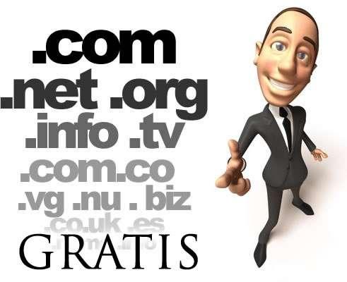 Alojamiento + dominio gratis en anegas designs