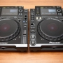Pareja pioneer cdj 2000 cd reproductor mp3 usb