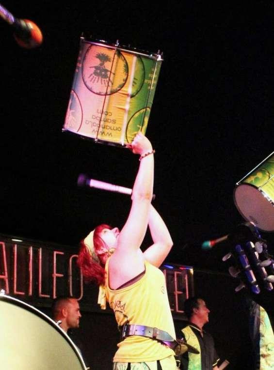 O'mandala percusión.