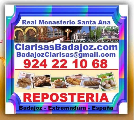 Monjas. reposteria, bizcochos, galletas, mantecados, yemitas, magdalenas, pasteles, polvor