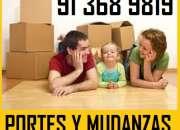 MUDANZAS BARATAS EN CIUDAD LINEAL(91)36+898X19PORTES/PUNTO LIMPIO