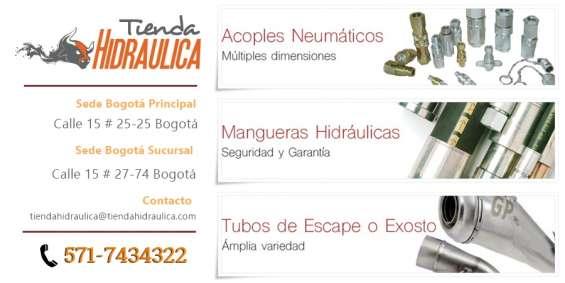 Accesorios hidraúlicos y neumáticos en colombia