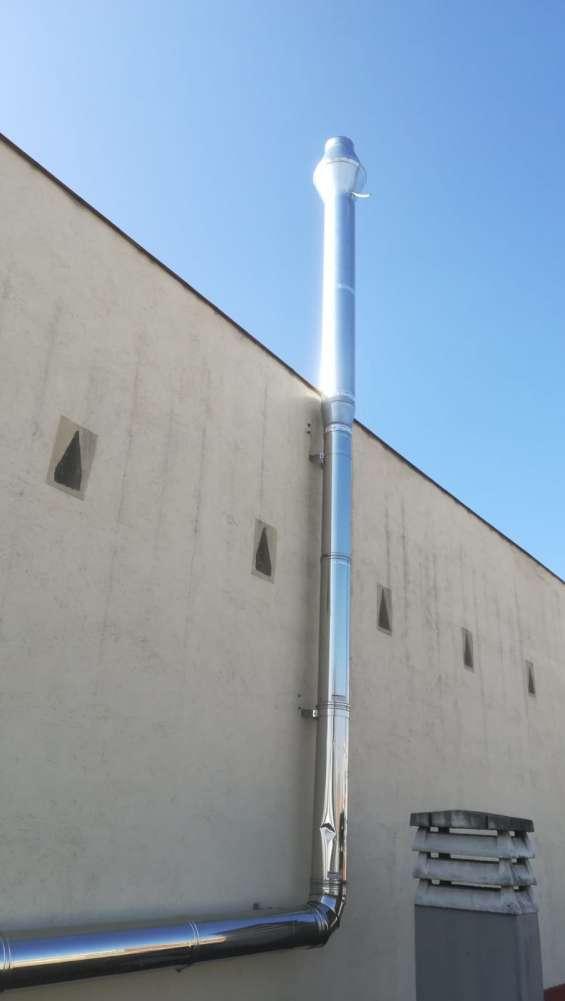 Diámetro tubos del tiro de chimenea correspondiente a un local, el diámetro o la sección
