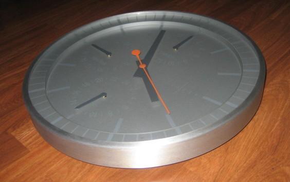 Fotos de Reloj de cocina en aluminio 2
