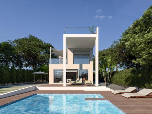 Ocasion villa de lujo con parking y piscina y vistas al mar