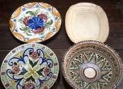 Lote de platos de ceramica