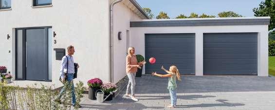 Oferta en puertas seccionales de garaje desde 949€