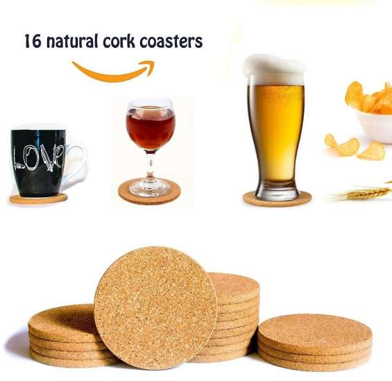 Drink coasters - bar tools - home decoration - kitchen decor ideas